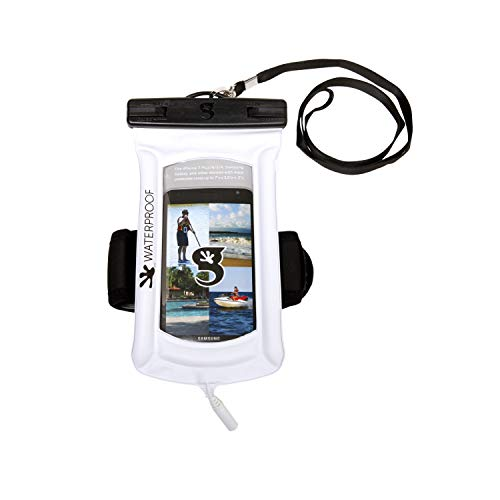 Float Phone Dry Bag with Arm Band & Audio