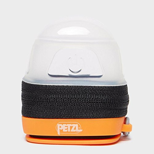 PETZL Unisex– Adult's Zipka Schwarz Head Torch, Black, standard size & Noctilight