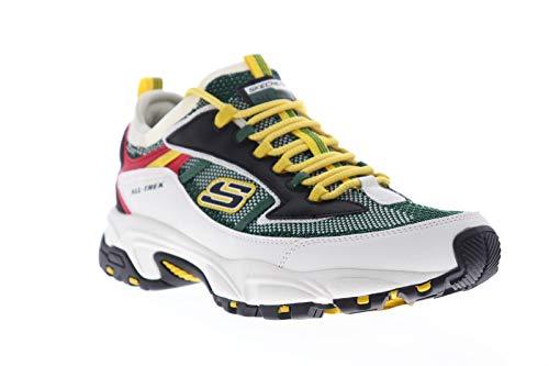 Skechers Stamina Berendo Mens Sneakers Black/Green 10 W