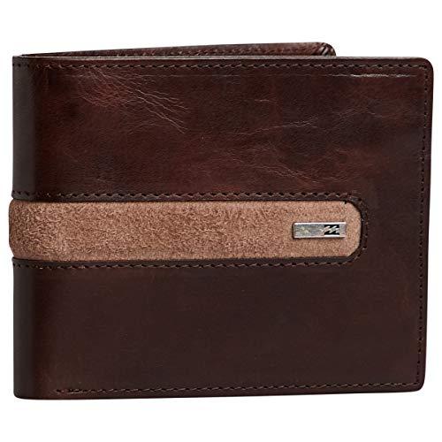 Billabong D Bah Leather Wallet - Chocolate