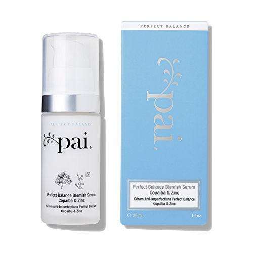 Pai Skincare Copaiba und Zink Perfect Balance Makel Serum für Akne Anfällige Haut - Beruhigend, Anti Bakteriell und Anti Inflammatorisch - 30ml