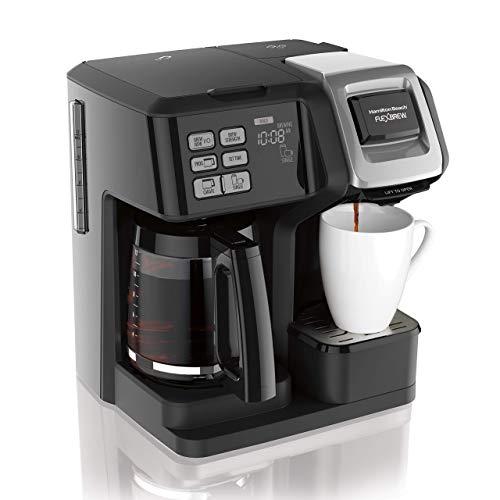 Hamilton beach flexbrew 2-way coffee maker   model# 49954 (Renewed)