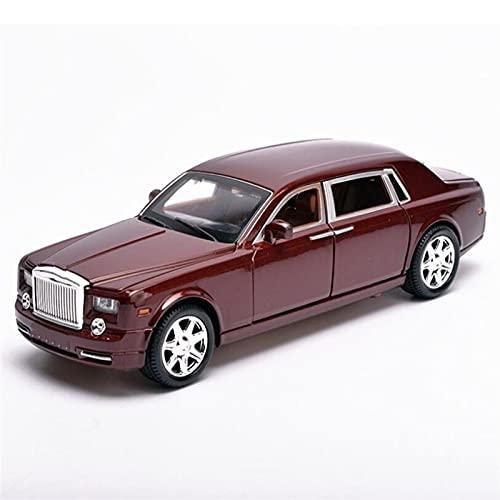 GYXY spielzeugauto 1/24 Für RO-LLS-Royce Für PH-Antom-Metall-Druckguss-Legierung Auto Modellauto MDEL-Druckgussmodell (Color : 1)
