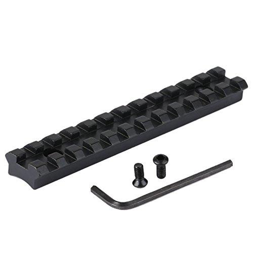 20mm Picatinny Weaver Schiene Zielfernrohrmontagen Schwalbenschwanz für Gewehr