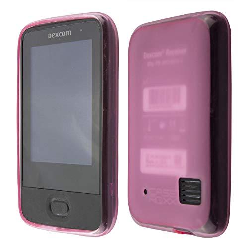 caseroxx TPU-Hülle für Dexcom G6 Receiver, Tasche (TPU-Hülle in pink)