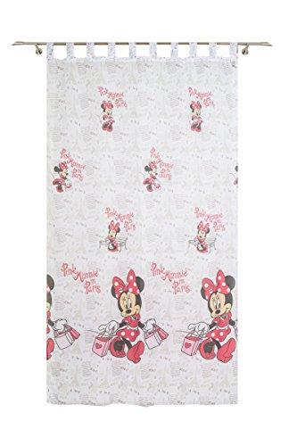 Disney Minnie Schlaufenschal, Polyester, Weiß, 140 x 245 cm