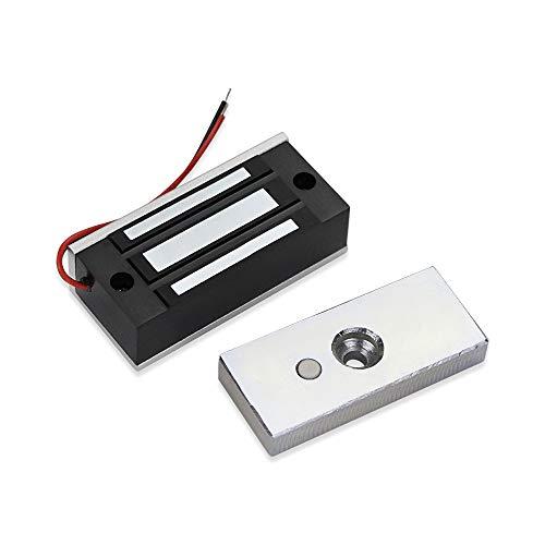 NN99 Elektronisches Magnetschloss 60KG/132lbs Zugangskontrollsystem Kit Single Door 12VDC Elektromagnetische Türschlösser