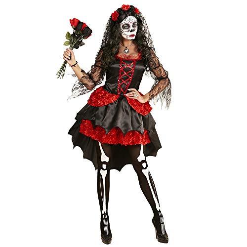 Widmann 06112 Erwachsenen Kostüm Dia De Los Muertos Braut, womens, M