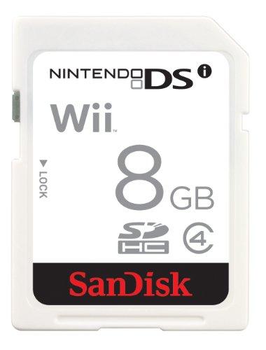 SanDisk 8GB SDHC for Nintendo DSi