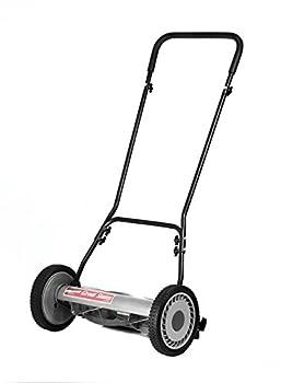Great States 815-18 18-Inch 5-Blade Push Reel Lawn Mower Grey