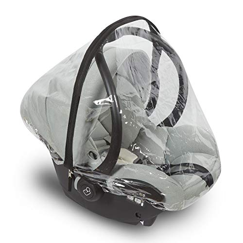 Universal Baby Car Seat Rain Cover with Easy Access Zipper