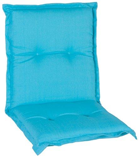 Beo Türkis Blaue Polsterauflage Auflage Kissen für Niedriglehner hochwertig