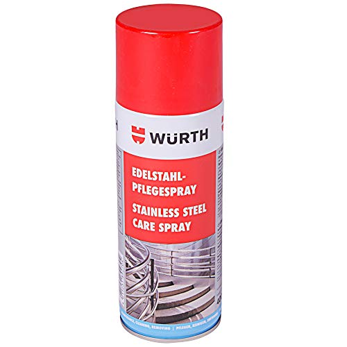Limpiador para acero inoxidable Würth saBesto spray 400 ml
