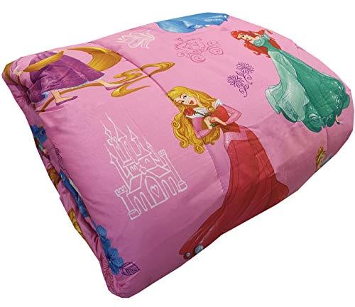 Trapunta Piumone Invernale Disney - Marvel originale Letto Singolo 1 Una Piazza 170x260 cm Bambino Bambina (Disney Principesse)