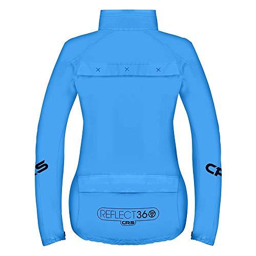 Proviz Womens REFLECT360 CRS (Colour Reflective System) Cycling Jacket - Blue - 10