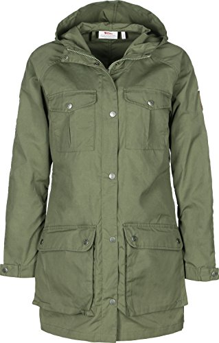FJÄLLRÄVEN Damen Greenland Parka Light Women, Green, S