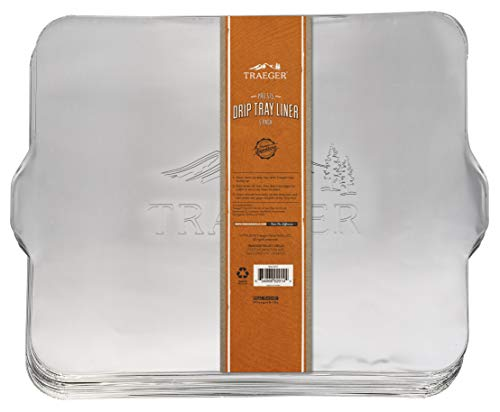 Traeger DRIP Tray Liner 5 Pack - PRO...