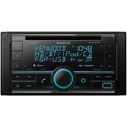 Kenwood DPX-794BH 2-Din CD Receiver with Built in Alexa, Bluetooth and HD Radio