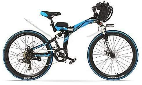 ZTBXQ Sports de Plein air vélo de Route de Ville de Banlieue 24 Pouces 48V 12AH 240W Aide à...