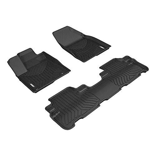 Aries Automotive 2805709 Custom Fit Floor Mat Complete Kit, Bl