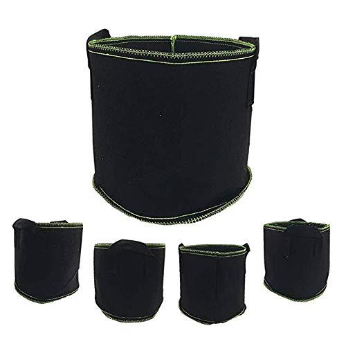 100Pcs Nursery Pots Graines-Raising sacs non-tissés Garden Supply 8x10cm