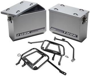 Aluminum Panniers with 2021 quality assurance Pannier Racks Yamaha WR for Silver Medium