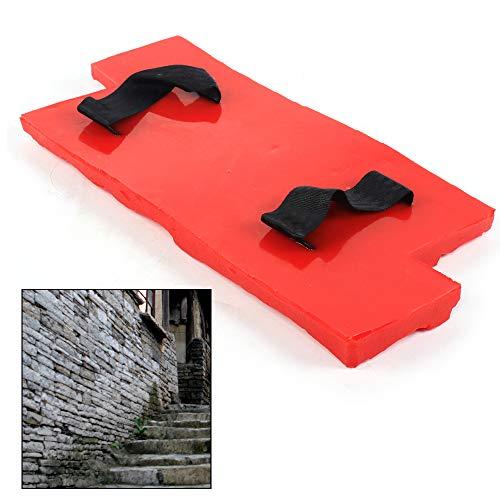 DYRABREST Cushion Slate Seamless Texture Polyurethane Stone Stamp Mat Concrete Cement Wall 15.7'x7.8' x 0.6'
