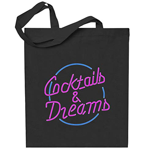 Cloud City 7 Cocktail Cocktails And Dreams Neon Sign Totebag