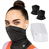 EVERYBREATH Premium FACE MASK with Certified Filters (Nero Black)