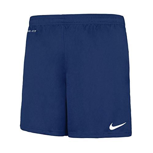 Nike Short de football Park Knit avec slip intégré pour homme Bleu Royal - small