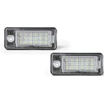 Andifany Kennzeichenbeleuchtung 8E0807430A 8E0807430B f/ür A3 A4 S4 B6 B7 A6 S6 Q7