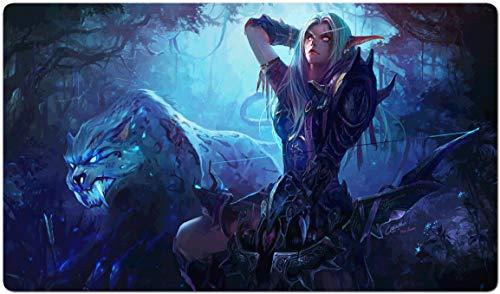 169517 - World of Warcraft-Brettspiel MTG Spielmatte Tischmatte MTG playmat Größe 60x35cm Mousepad Spielmatte für TCG Magic The Gathering