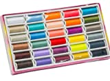 New 30pcs 30 Colors Polyester Spool Sewing Machine DIY Thread