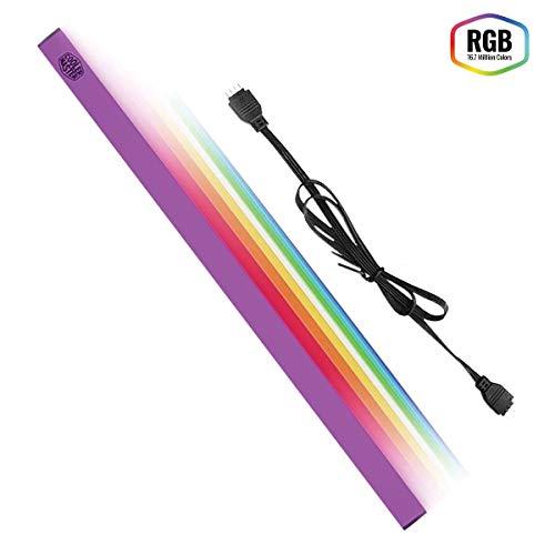 Cooler Master, Universaler RGB-LED-Streifen mit Magnetband, Aluminiumgehäuse.