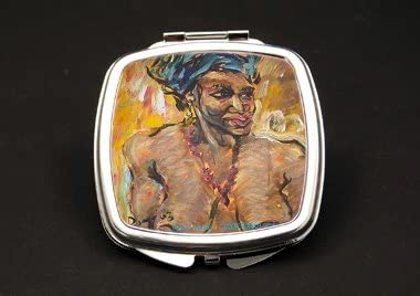 Head Wrap Dual Mirror Max 53% Max 53% OFF OFF Comp African Compact American
