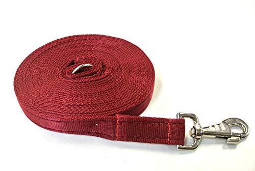 Church Products UK Hundeleine, 9 m, Gepolstertes Gurtband, Größe L, 25 mm