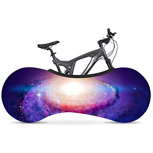 Protección De Bicicletas 700C 26 '-28' estiramiento de la bicicleta cubierta de polvo de Protección Ambiental de pintura 1pcs sin desvanecimiento tela elástico cubierta de carretera en bicicleta Funda