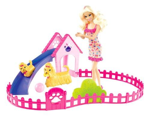 Barbie X6559 Parque De Perritos (Mattel)