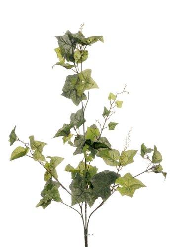 Artif-deco - Vigne artificielle en piquet 90 cm 62 grandes feuilles vert - choisissez votre couleur: vert