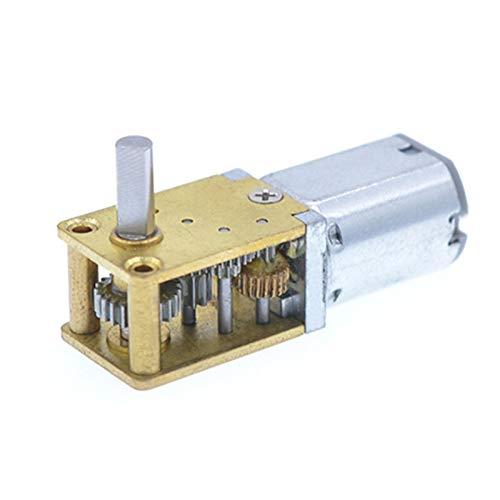 DC Eje Corto Par Motor Caja de Cambios DC 3V 6V 12V...