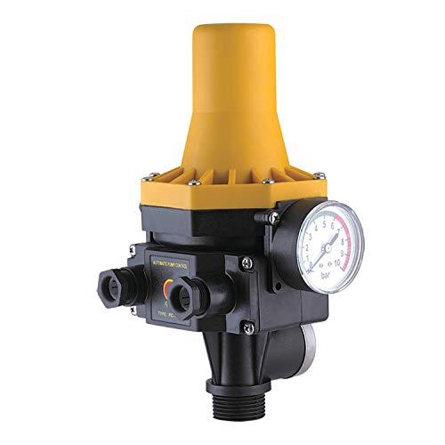 PUMPENSTEUERUNG DRUCKSCHALTER Druckwächter Automatic-Controller Durchflusswächter AC3 für Hauswasserwerk Pumpe Brunnenpumpe Kreiselpumpe Tauchpumpe Tiefbrunnenpumpe (Durchflusswächter 3-2 unverkabelt)