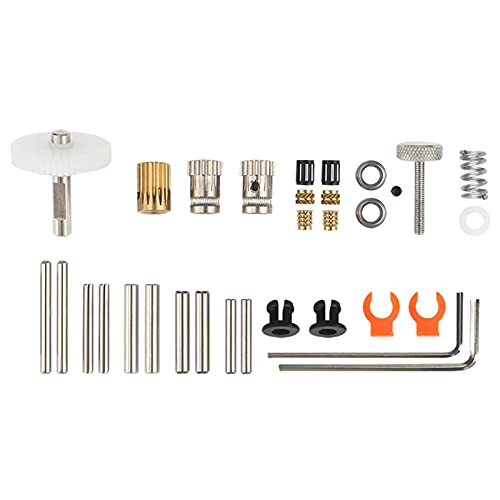 Upgraded Dual Gear BMG Extruder Parts Kit for Ender 3 CR10 CR-10S Tevo Tornado 3D Printers