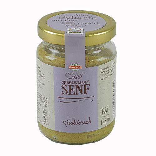 Koals Spreewälder Knoblauchsenf (158 ml)
