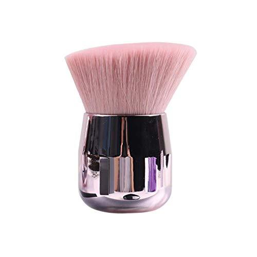 LETGO Prime Deals Day Deals 2020-Kabuki Powder Foundation Brush Portable Loose Powder Shaving Brushes Angled Large Face Blush Brush(Pink B)