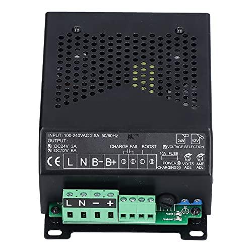 SALUTUY Generador Cargador De Batería Inteligente, Cargador De Batería De Grupo Electrógeno Portátil Duradero De Voltaje Amplio para Paquete De Batería De 12V