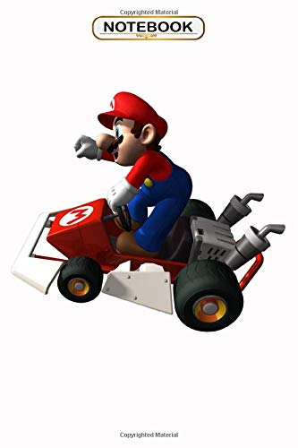 Notebook: Mario Kart Ds , Wide ruled 100 Pages Bank Lined Paperback Journal/ Composition Notebook/Book Gifts For Kids, boys, girls