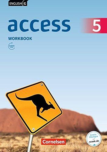 English G Access - Allgemeine Ausgabe: Band 5: 9. Schuljahr - Workbook mit Audios online