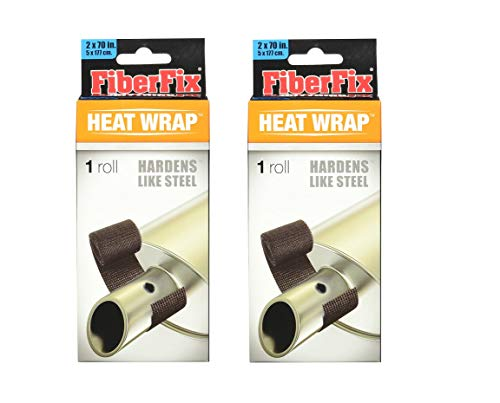 FiberFix Heat Wrap- For Exhaust Pipes and High Temp Repairs, 2'x70'. (2)