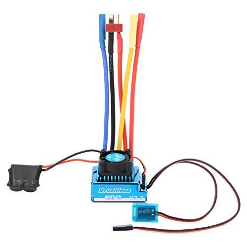 ESC sin escobillas, Controlador de Velocidad electrónico Resistente al Agua a Prueba de Polvo Accesorio Controlador de Velocidad del Motor ESC para Modelo de Coche RC 1/10((120A))