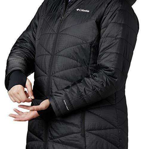 Columbia Women's Mighty Lite Hooded Jacket-Black